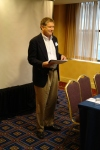 Dr. Jim Walters (Loma Linda University) welcomes the conference participants and shares some introductory thoughts.